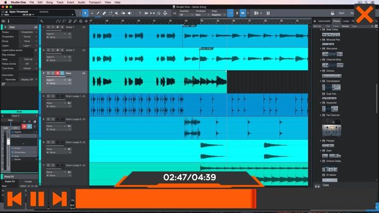 Audio Course For Studio One 4