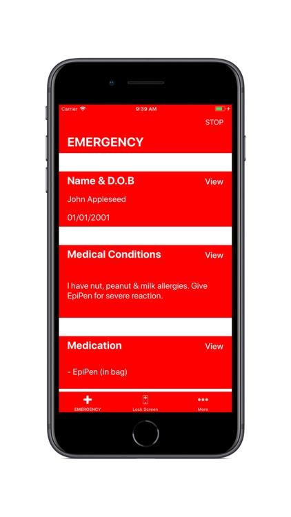 MedicalMe: Medical ID & Alarm