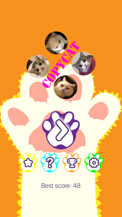 CopyCat - Cute Cats (Marbles and Sesame) Matching screenshot three