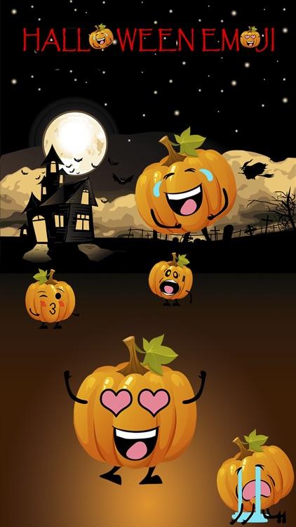 Fun Halloween Pumpkin Sticker screenshot-3