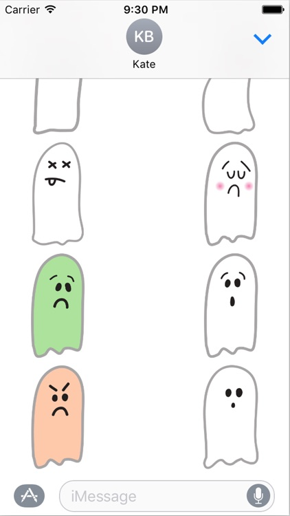 Spooky Smiles Sticker Pack