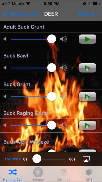 Hunt Pro- Calls & Solunar Time screenshot-3