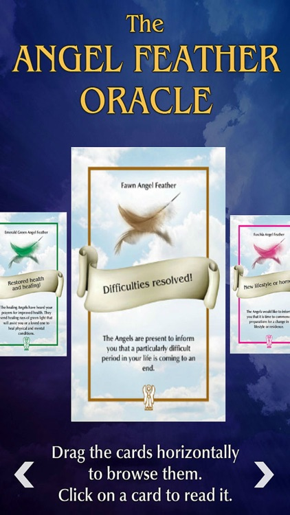 Angel Feather Oracle Cards screenshot-3