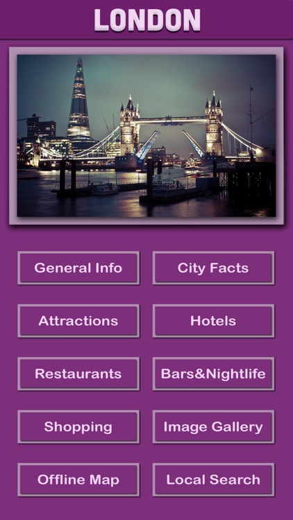 London Offline Tourism