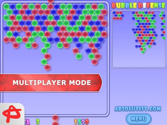 Bubblez: Bubble Defense Full screenshot 1