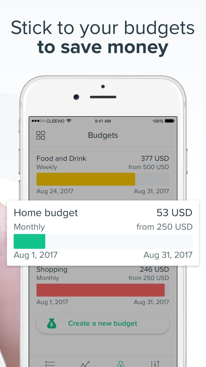Spendee Budget & Money Tracker Screenshot