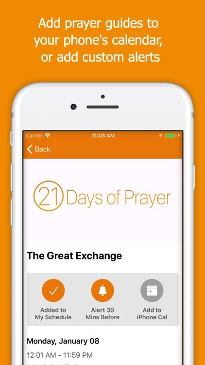 21 Days of Prayer Guide screenshot-3
