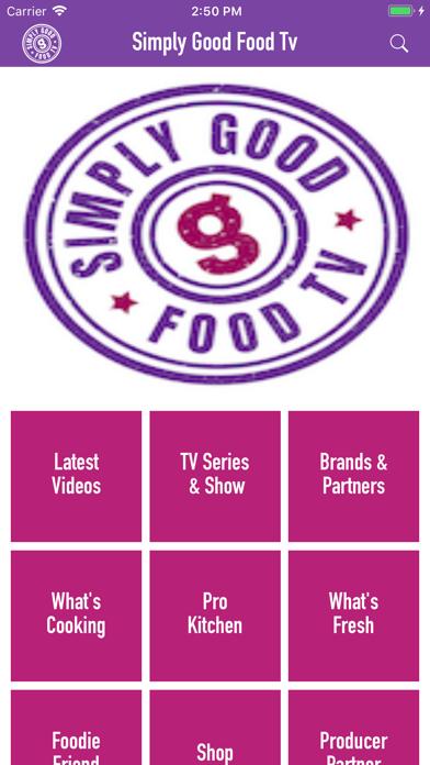Simply Good Food Tv Recipes By Good Taste Ios United