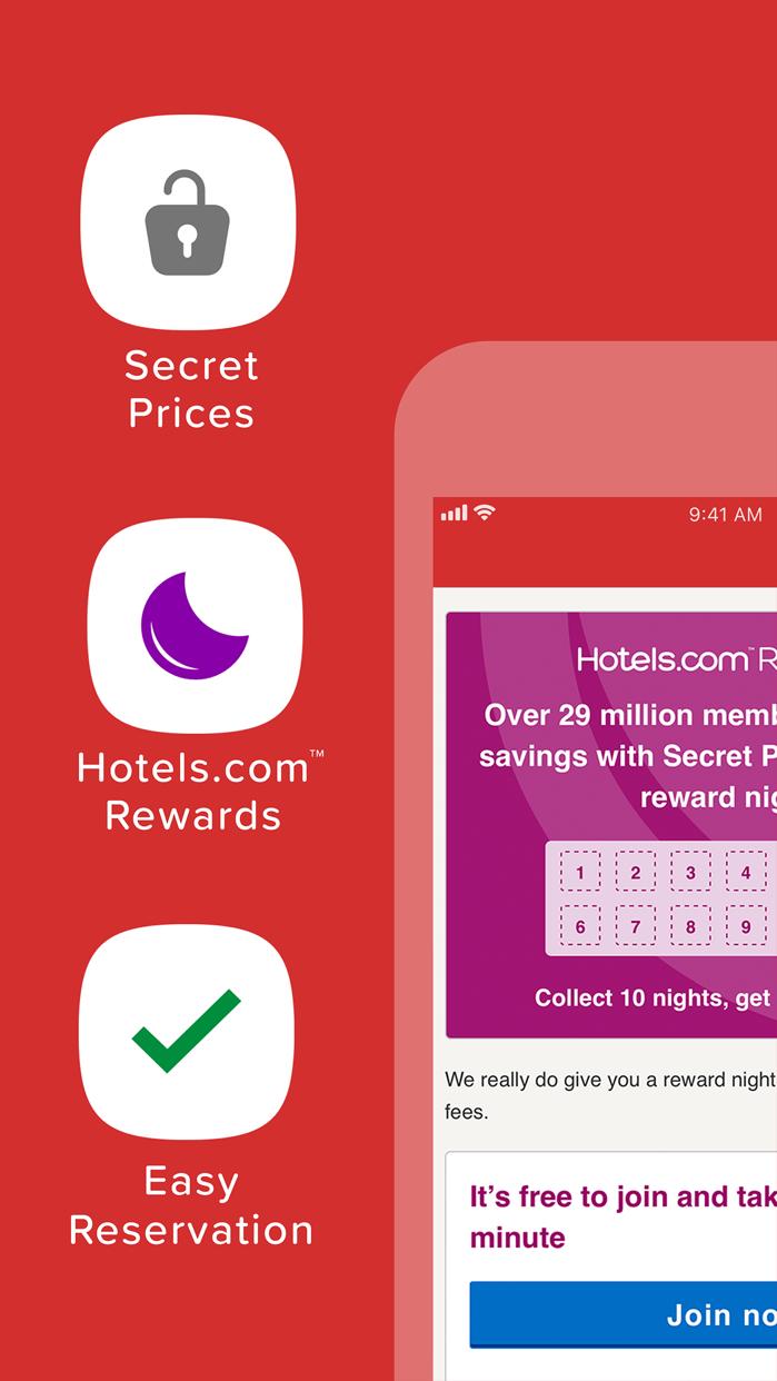 Hotels.com: Easy Hotel Booking Screenshot
