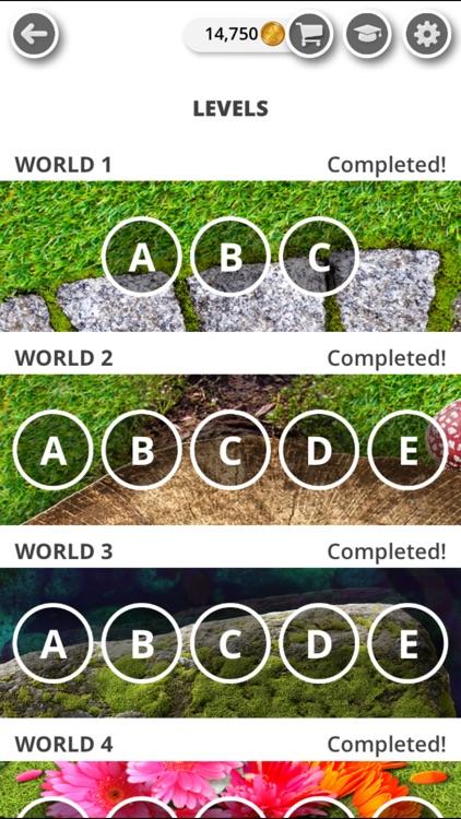 Garden of Words - Word Game screenshot-0