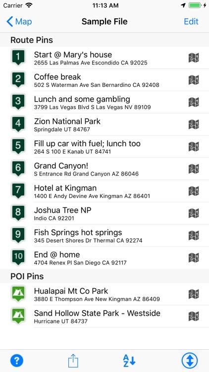 Road Trip Planner Viewer screenshot-3
