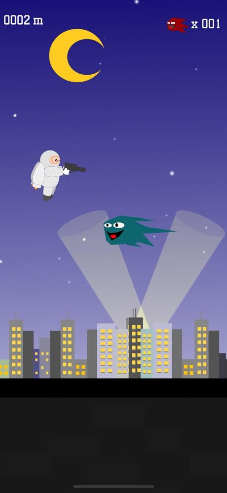 Jetpack Hero – bang bang & fly