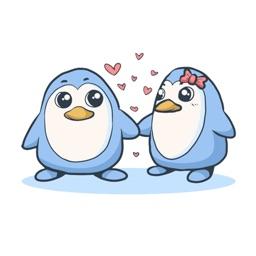 Cute Animal Love Stickers