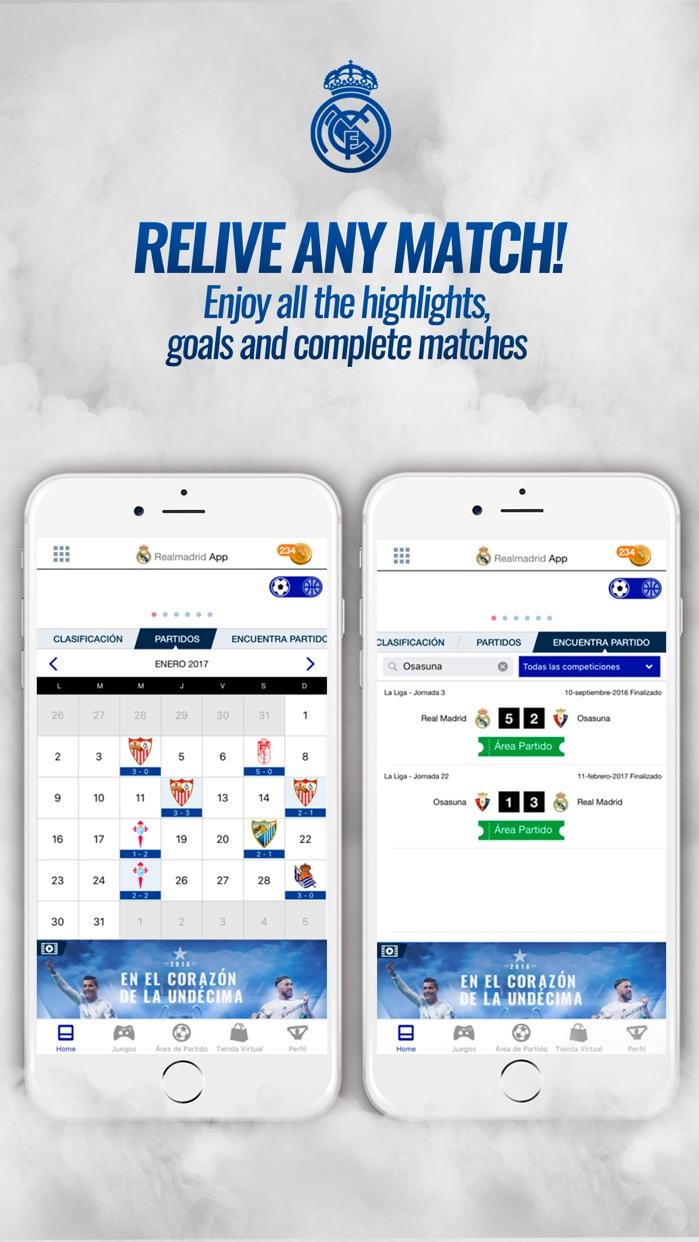 Realmadrid App Screenshot