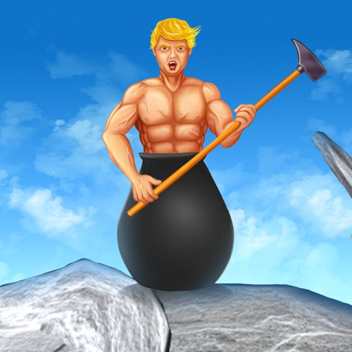 Getting over it Trump, Game Y8 iOS App