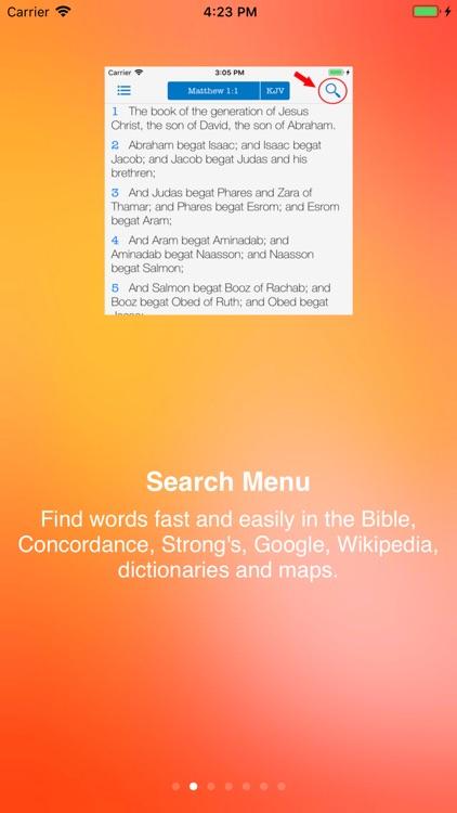 Strong's Concordance KJV Bible screenshot-6