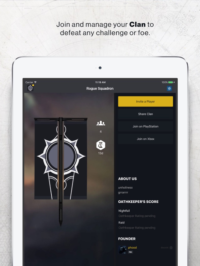 Destiny 2 companion on the app store destiny 2 companion on the app store stopboris Image collections