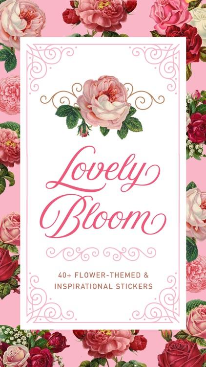 Lovely Bloom Flower Stickers