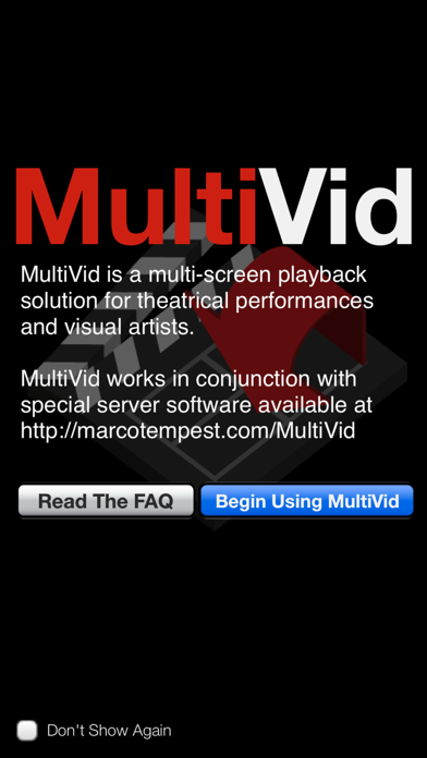 MultiVid screenshot one