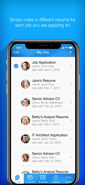 Resume Builder Resume Creator on the App Store