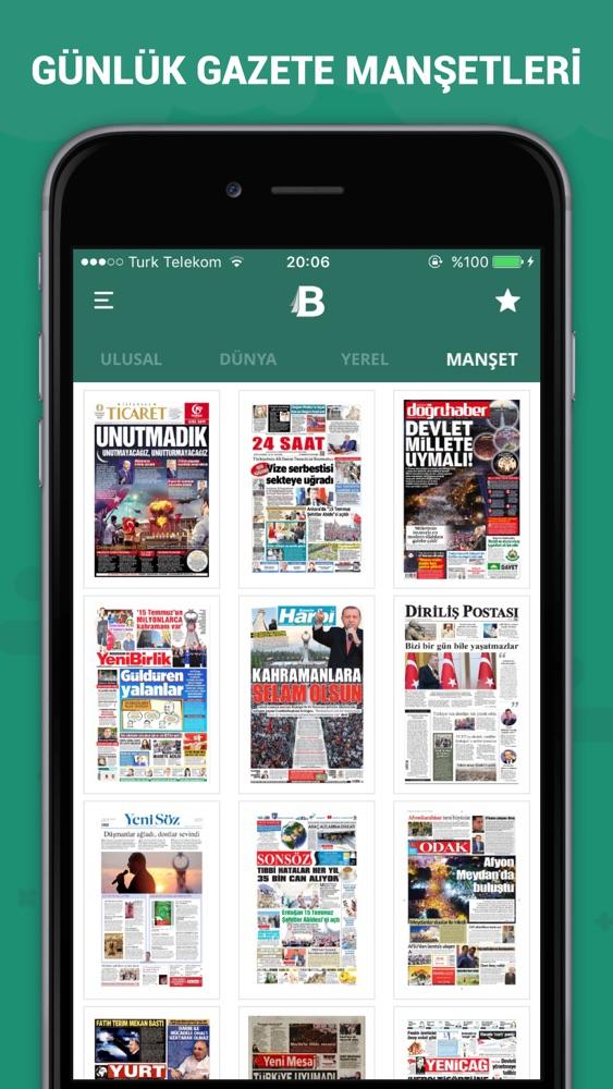 Basın Turu App for iPhone - Free Download Basın Turu for