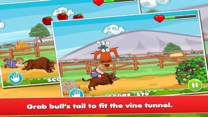 Fatty In Trouble 2 : Bull Ride screenshot two