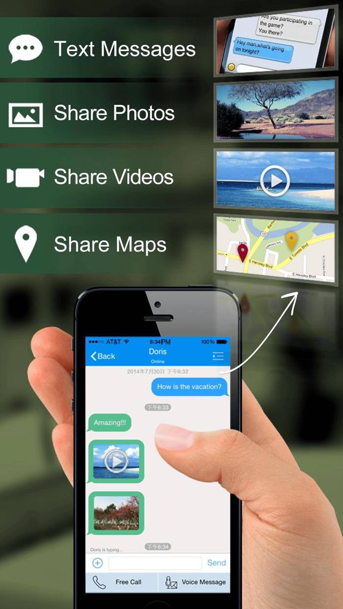 Dingtone - WiFi Calling & Text Screenshot