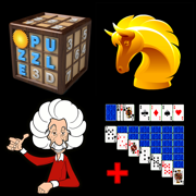 Thinking Games Bundle - Chess, Sudoku, Brain Training, Kakuro & Solitaire