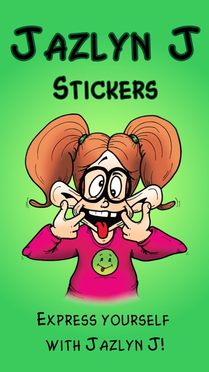 Jazlyn J Stickers