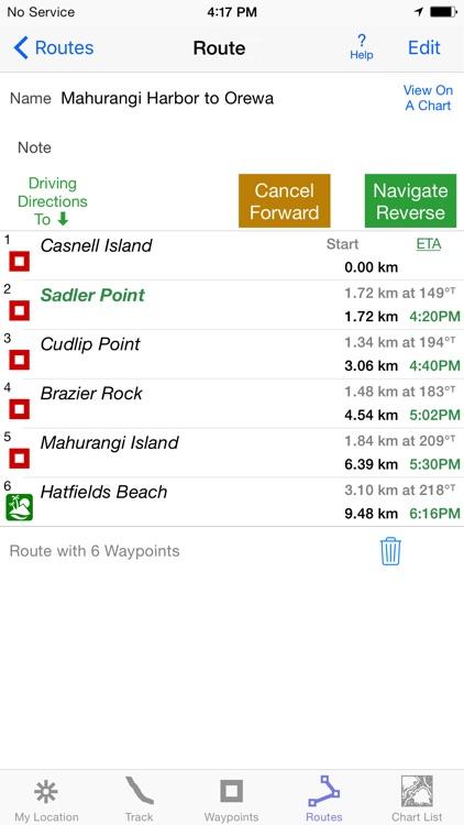 i Sail GPS NZ–NZMariner Charts screenshot-3