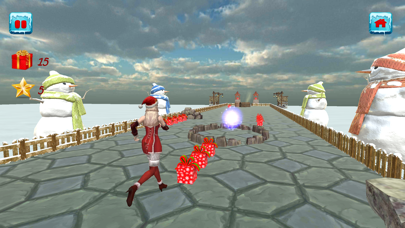 Christmas Santa Girl Run screenshot 5