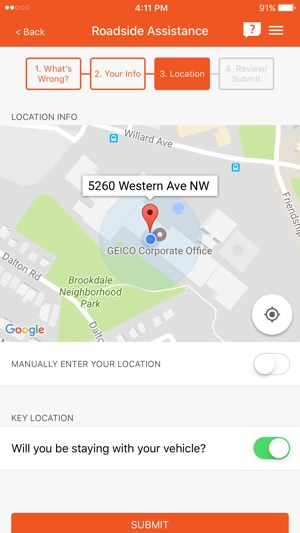 customer service geico