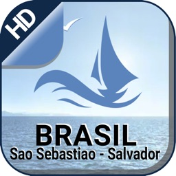 São Sebastião - Salvador nautical boating charts