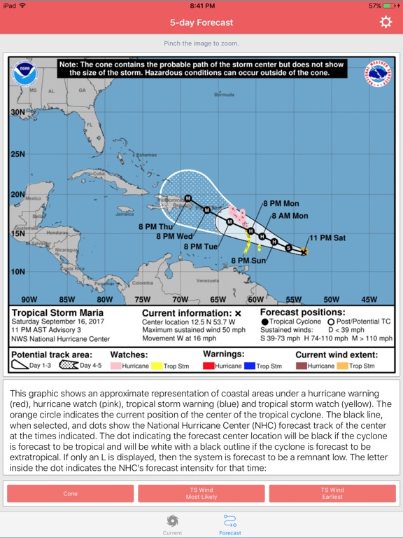 Hurricane Maria Storm Tracker screenshot 7