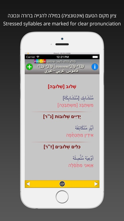 ARABIC Dictionary 18a5 screenshot-3