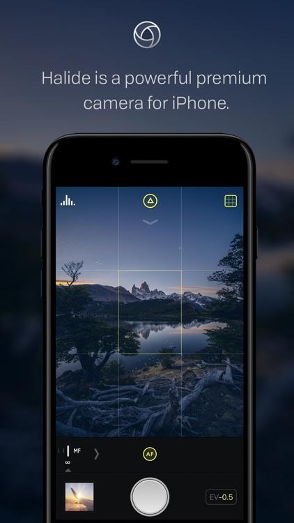 Halide - RAW Manual Camera screenshot-0