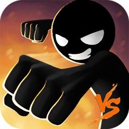 Fighter vs Stickers :Stickman