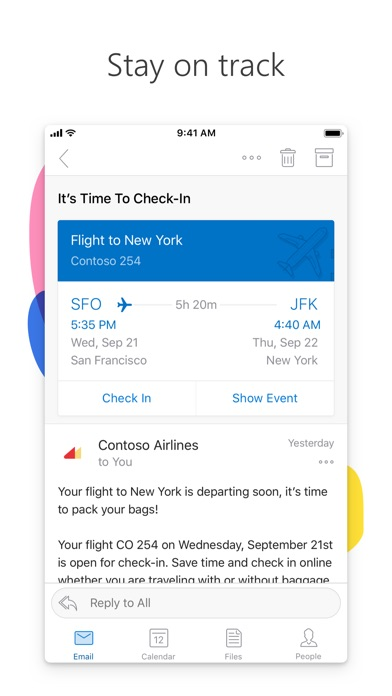 Microsoft Outlook app image