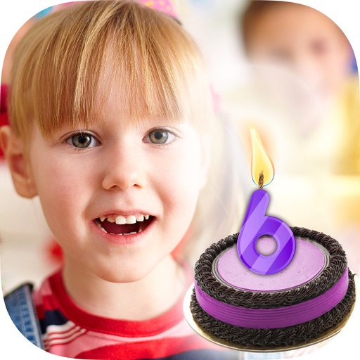 Happy Birthday Candle App Logo