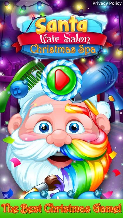 Santa Hair Salon Christmas Spa screenshot-4