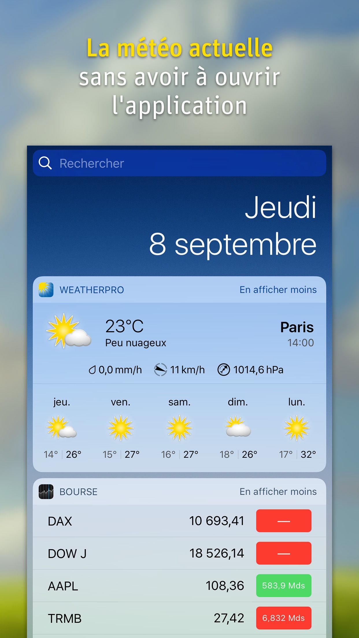 WeatherPro Screenshot