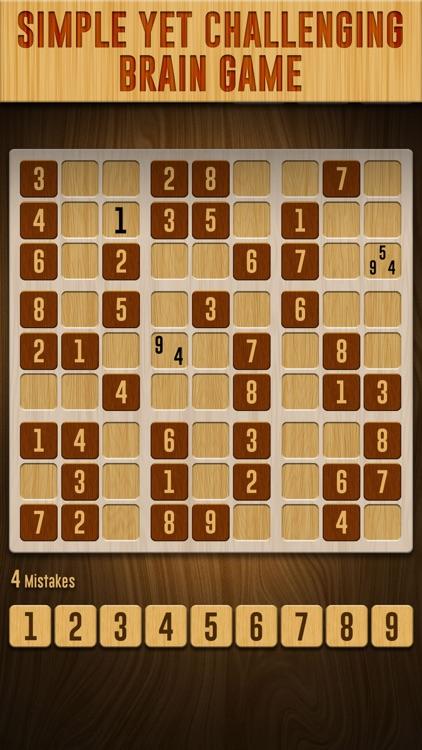 Sudoku Wood Puzzle screenshot-3