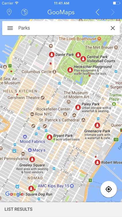 GooMaps - for Google Maps Edition screenshot-3