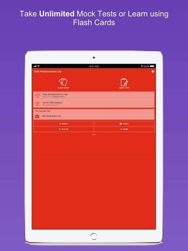 Cma Practice Exams Lite On The App Store