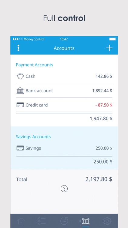 Spending Tracker MoneyControl screenshot-3