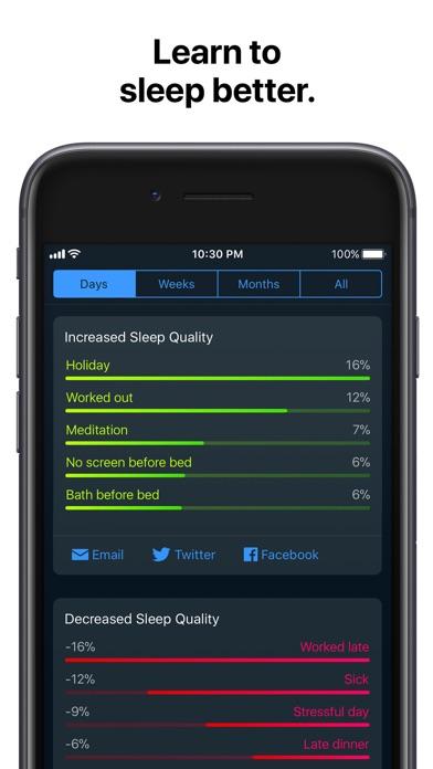 Sleep Cycle Alarm Clock review screenshots