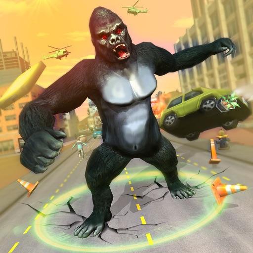 Wild Animal Smash City Attack iOS App