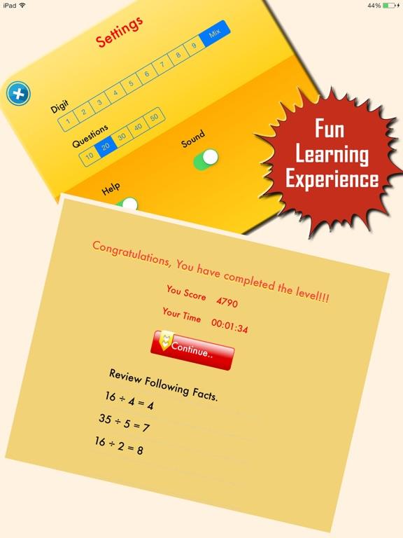 My Math App - Flashcards-ipad-3