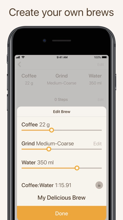Brew Timer - Coffee Recipes