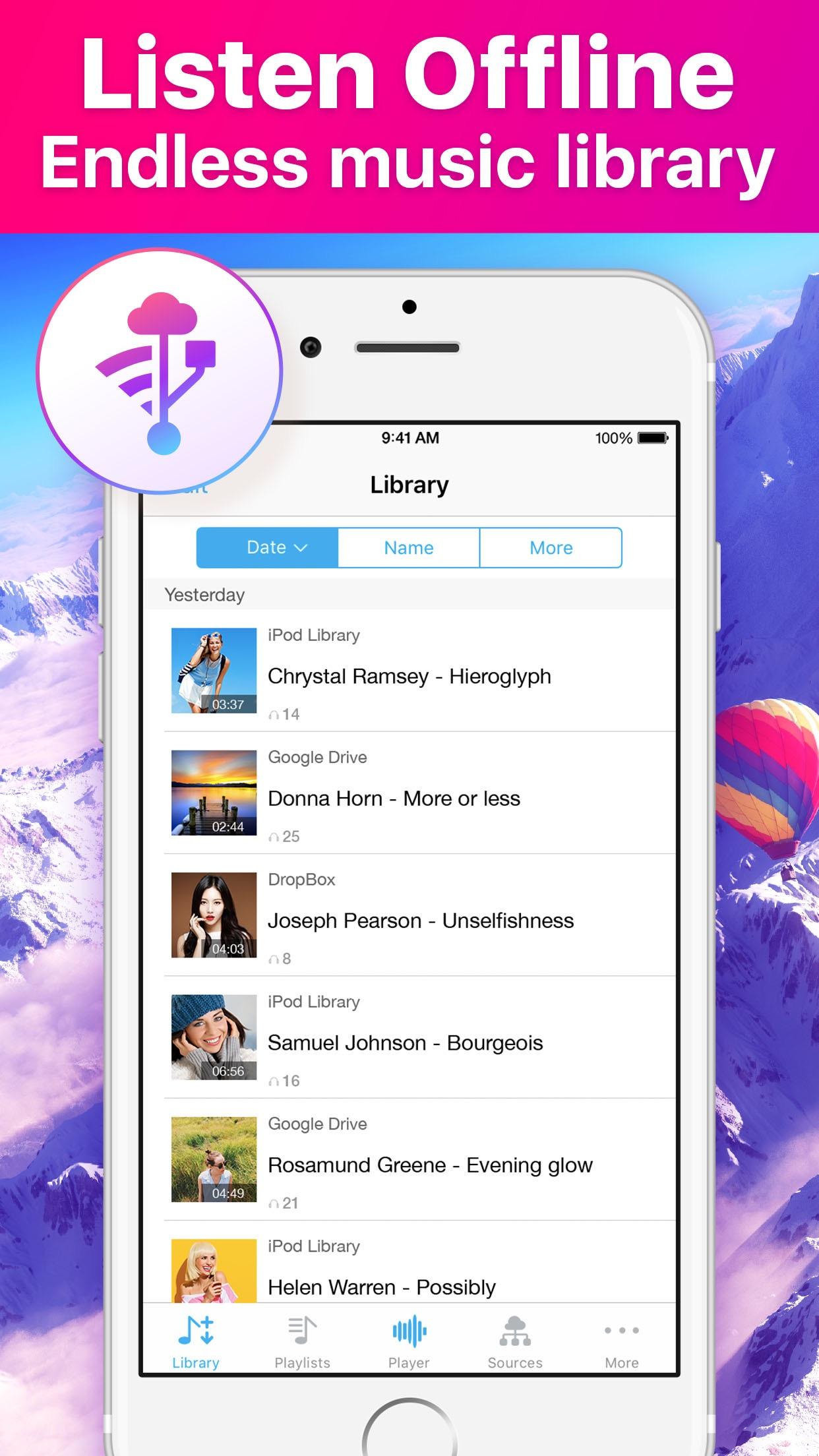 Music Now Offline Player Screenshot